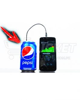 Portable Tin/Cans Speaker